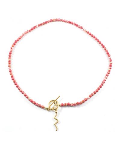 Collar Snake Rojo